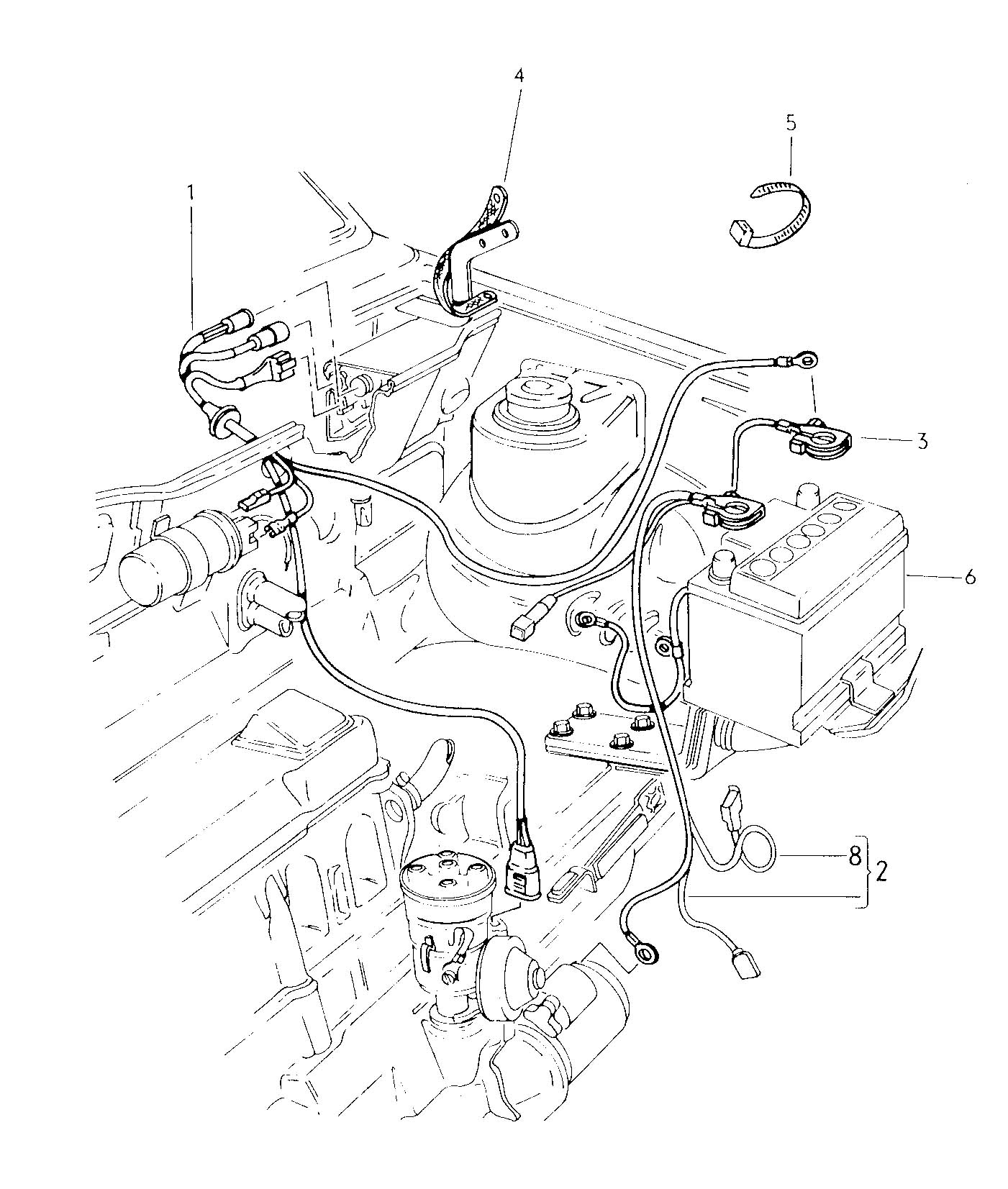 Volkswagen Rabbit Harness For Ignition Coil