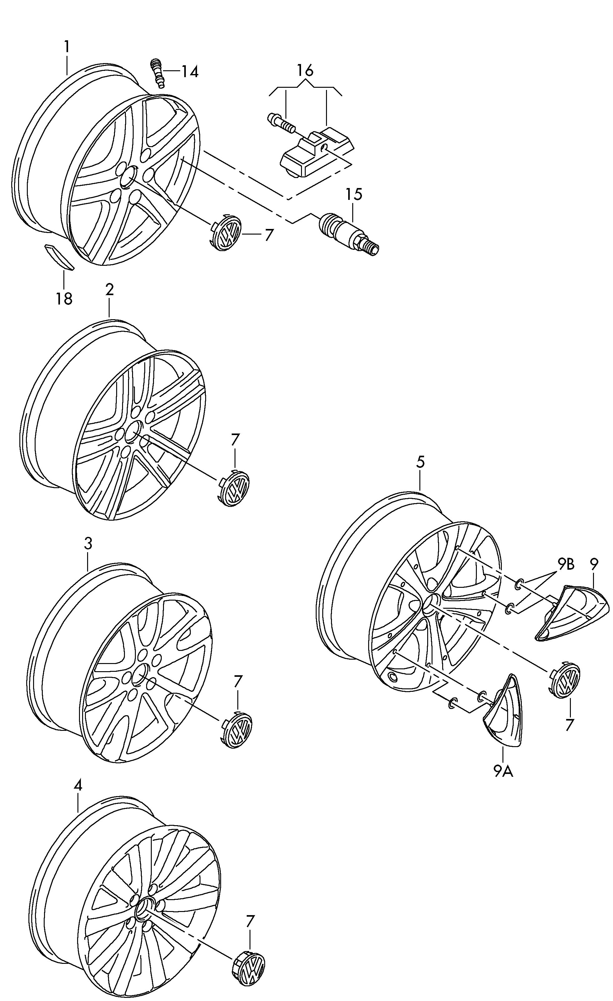 Wheels For Vw Vehicle