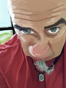 Selfie Digital #6 - Jim Faris