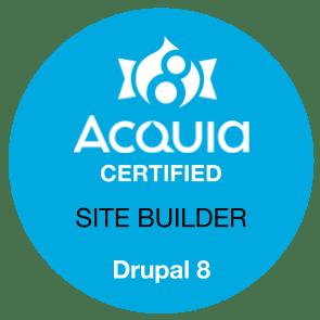Jimfrenette Com Acquia Certified Site Builder Drupal 8