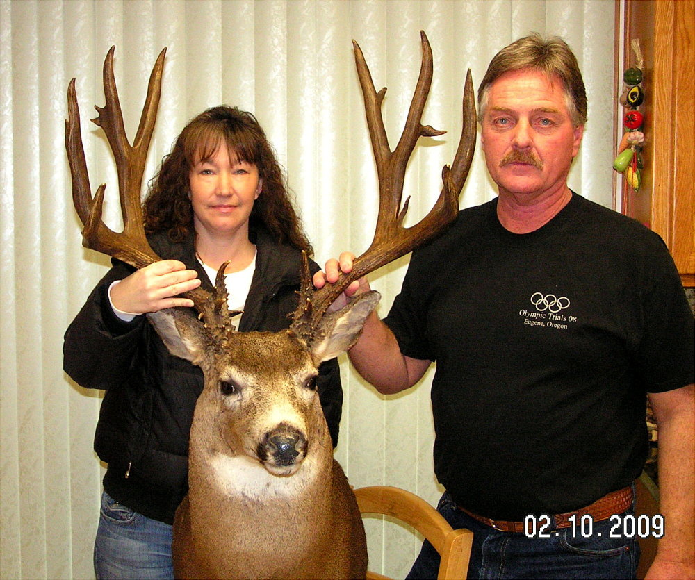 Oregon's 'Newest' Record Columbia Blacktail (1/5)