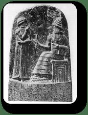 Hammurapi and Shamash