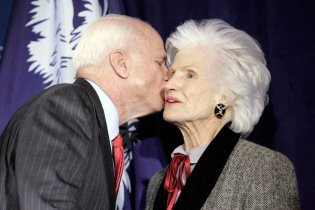 John McCain's Maverick Mom, Who Joined Him On The '08 Campaign Trail, Dies At 108