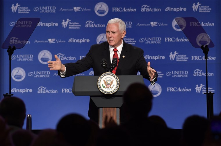 Mike Pence Is First Vice President To Address Anti-Gay Summit