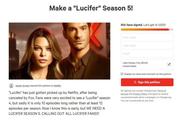 Producers say that Lucifans has Netflix Attention – Lucifer