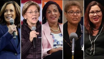 Trump's New Strategy: Portray Biden's Running Mate (Especially If Black Woman) As 'Leftist Threat'