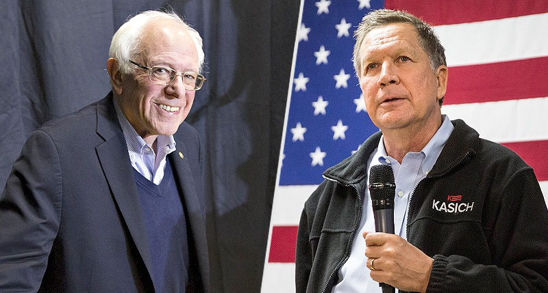 Kasich & Sanders JOIN FORCES For Biden – Will Headline Night At Democratic Convention