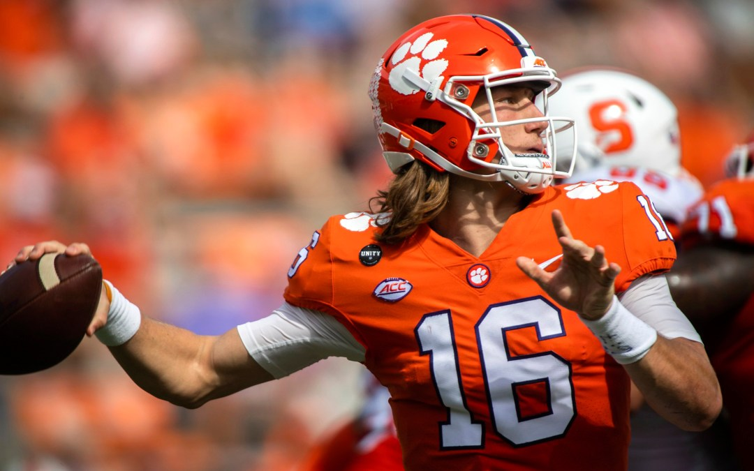 Clemson's Trevor Lawrence Tests POSITIVE For Coronavirus – Now In 10 Days Of Isolation