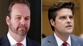 Trump Losing It: Refers To Top Supporter Matt Gaetz As Convicted Felon 'Rick Gates' At Florida Rally