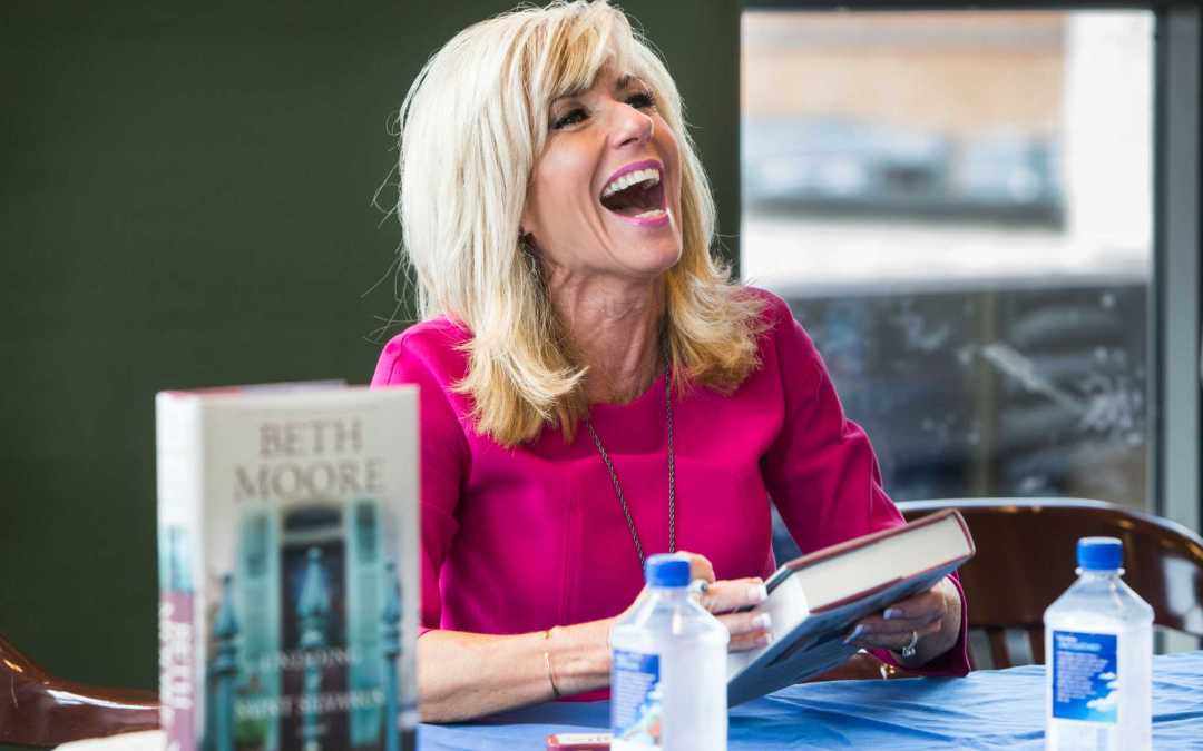 Evangelist Beth Moore Warns 'Saints Of God' Supporting Trump Is 'Seductive & Dangerous'