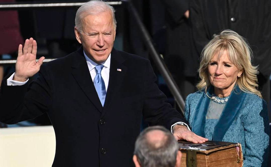 Biden Takes Oath & Becomes 46th President – Tells Americans 'Unity Is Path Forward'