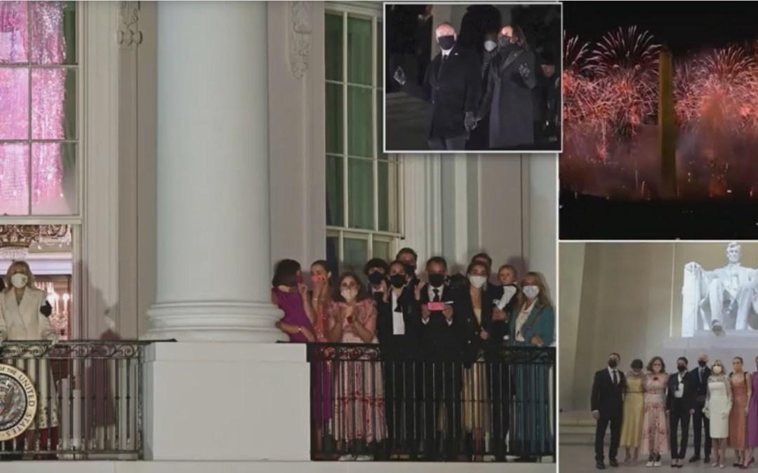 Biden Era Begins With Hollywood Star Power, Lincoln & Fireworks
