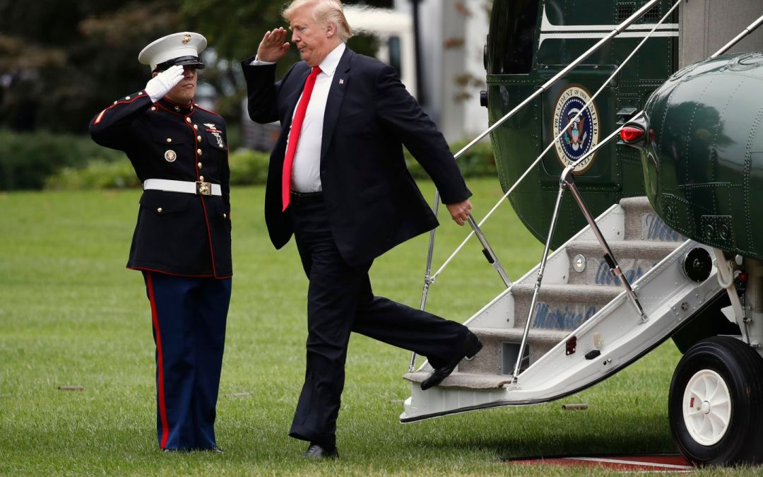 PENTAGON: No Farewell Military Ceremony For Trump