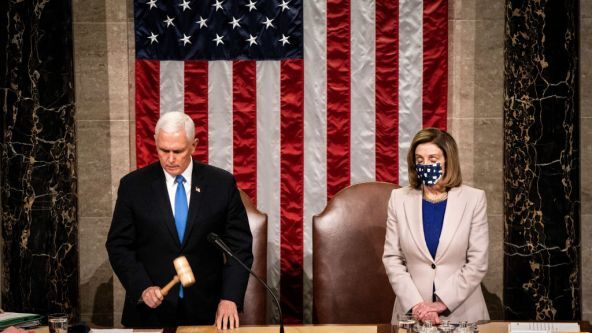 Pelosi Tells Pence To Invoke 25th Amendment 'NOW!' – Trump Cabinet Member RESIGNS