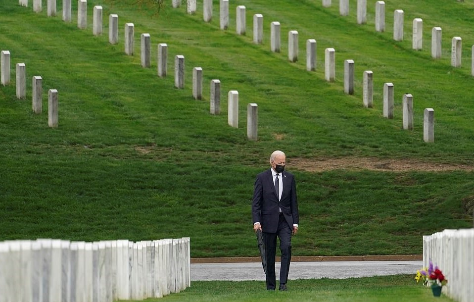 Biden Finally Ends U.S. Involvement In Afghanistan – Republicans Blast His 'Retreat'