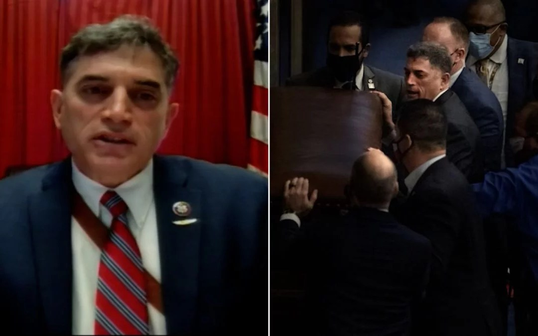 GOP Congressman REFUSES To Shake Hands With Capitol Hill Police Hero