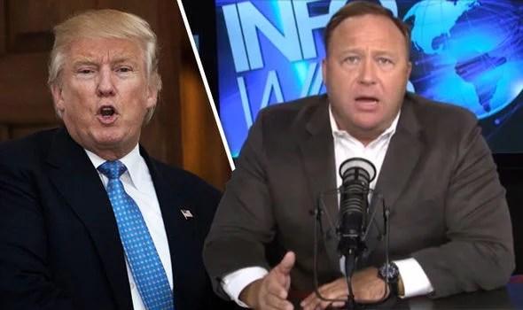 Conspiracy Theorist Alex Jones Flips On Trump – Calls Him A 'Dumbass'