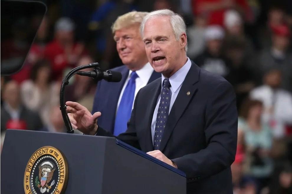 FINALLY: GOP Sen. Ron Johnson Blames Trump For Losing Wisconsin
