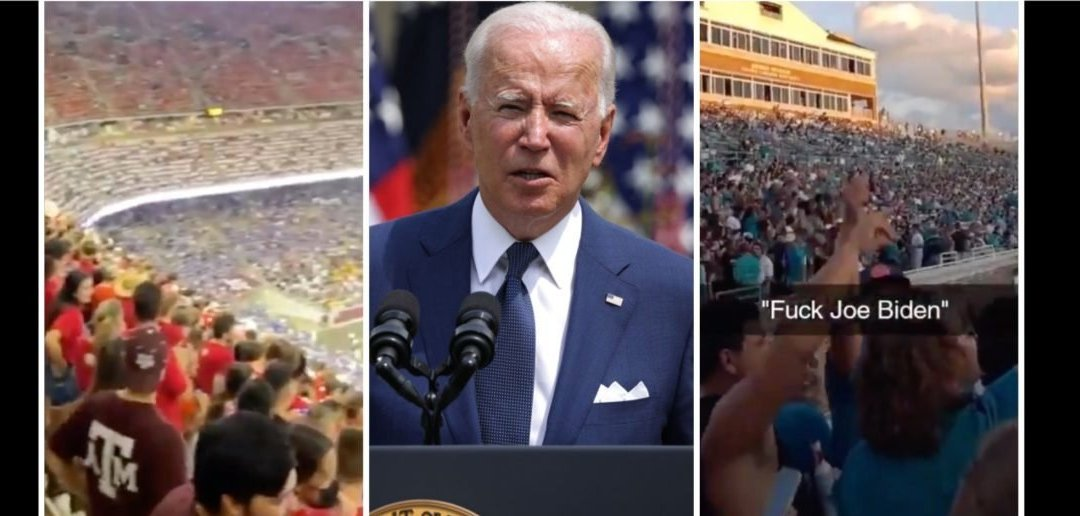 Trump Supporters Start 'F*ck Joe Biden' Chant At Sporting Events From Myrtle Beach To New York