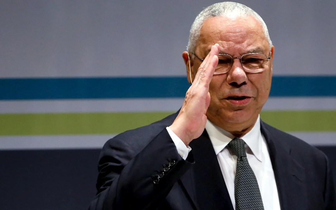 America Loses A Giant – Colin Powell Dies From Covid At 84