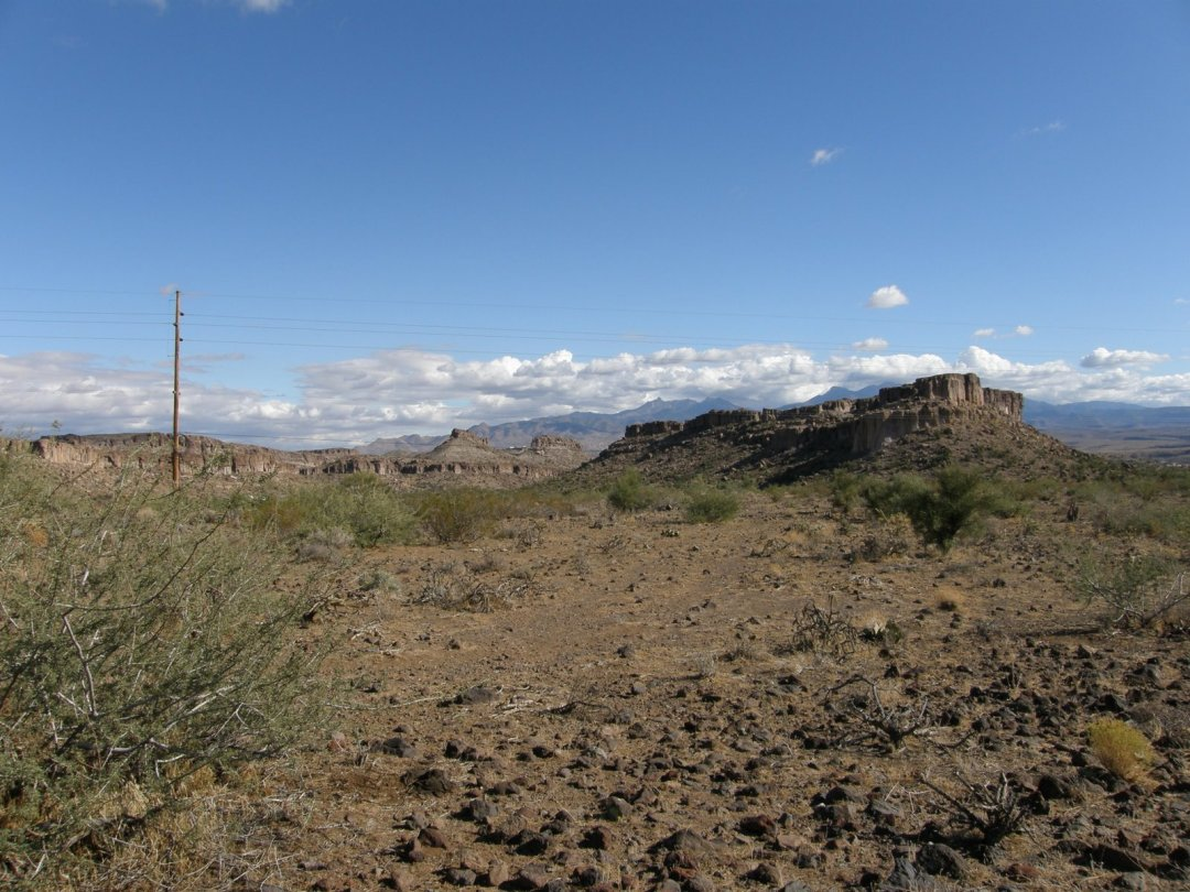 IN THE LAND OF THE HUALAPAI