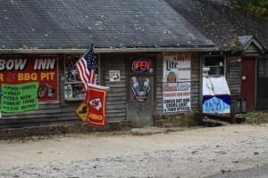 The Devils Elbow Inn, a revered landmark, before the devastating flood of 2017.
