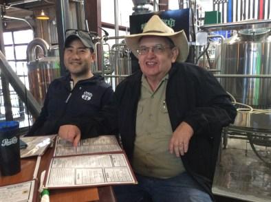 Toshi Goto and Author Jim Hinckley
