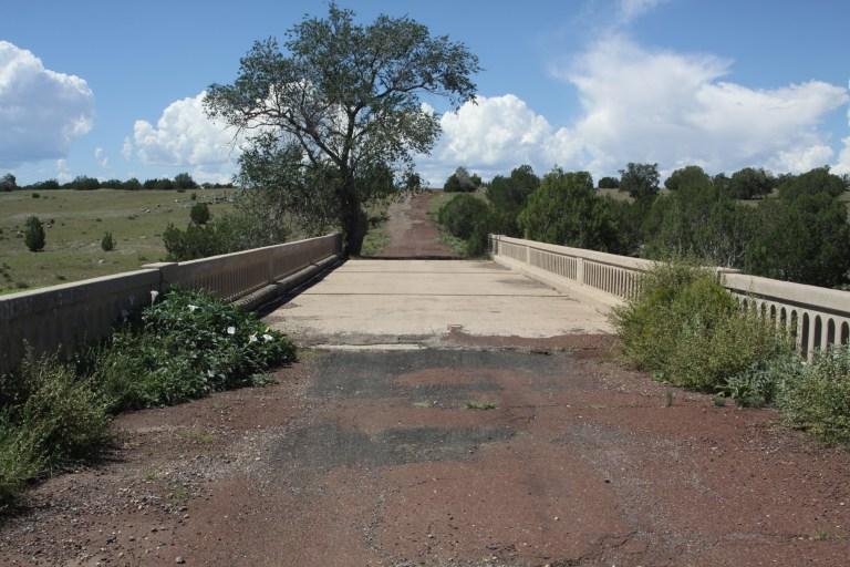 Partridge Creek Bridge west of Ash Fork Arizona predates Route 66 by several years.