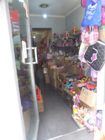 a peek inside the secondhand toy store
