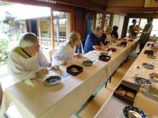 Kyoto Zen & Sushi class 012