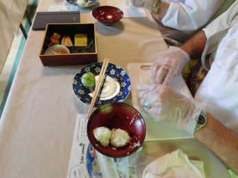 Kyoto Zen & Sushi class 015