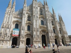 The Duomo, Milan's majestic cathedral.