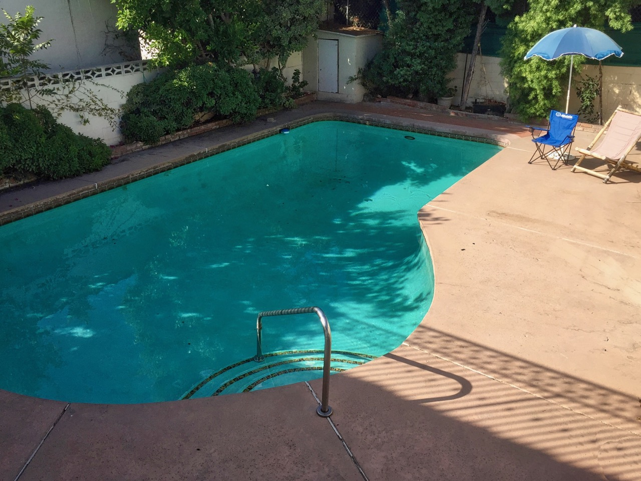 photo of the swimming pool