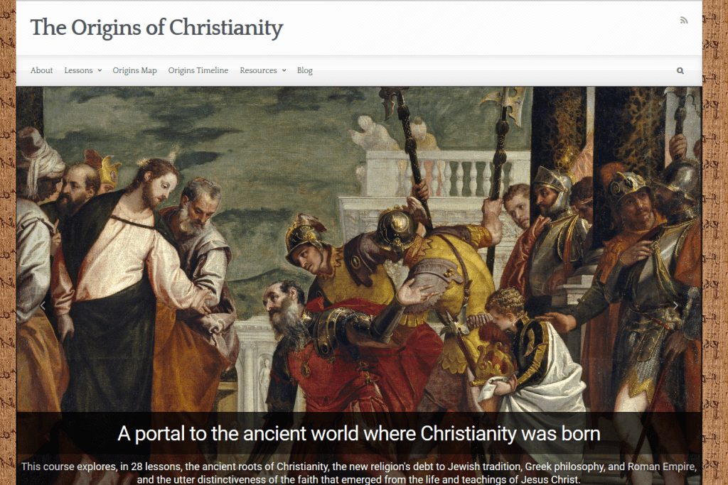 CourseExample-The Origins of Christianity 2016-05-10 15-44-22