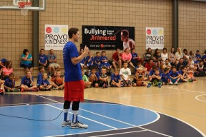 jimmer talking about character to Kids