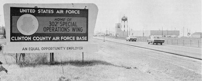 Clinton County Air Force Base in Ohio