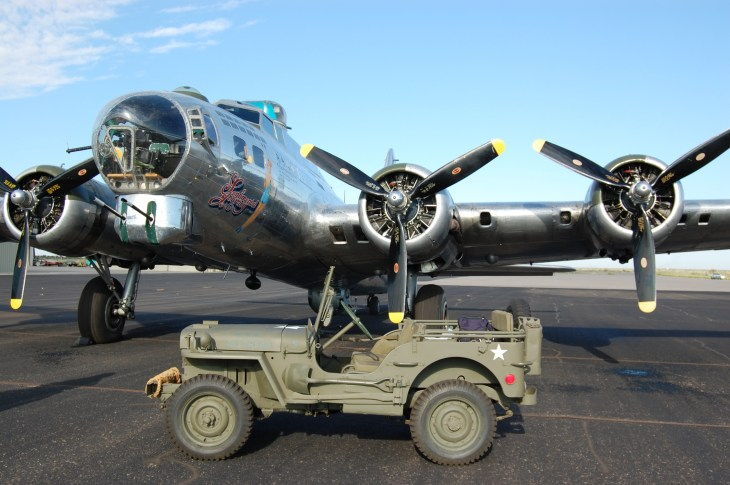 B-17 at Biggs Air Force Base, El Paso, TX