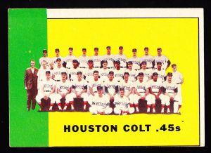 1963 Houston Colt .45s