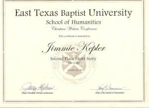 ETBU Certificate