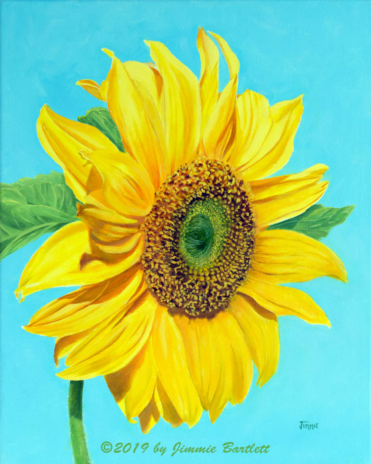 Sunflower Portrait