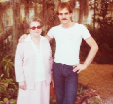Leu Gardens, 1979. Giorgia is 79; I'm 23.