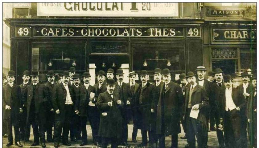 Une chocolaterie d'antan