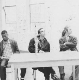 © G. Calvin Weston, John Lurie, Billy Martin aka illyB, (de gauche à droite).