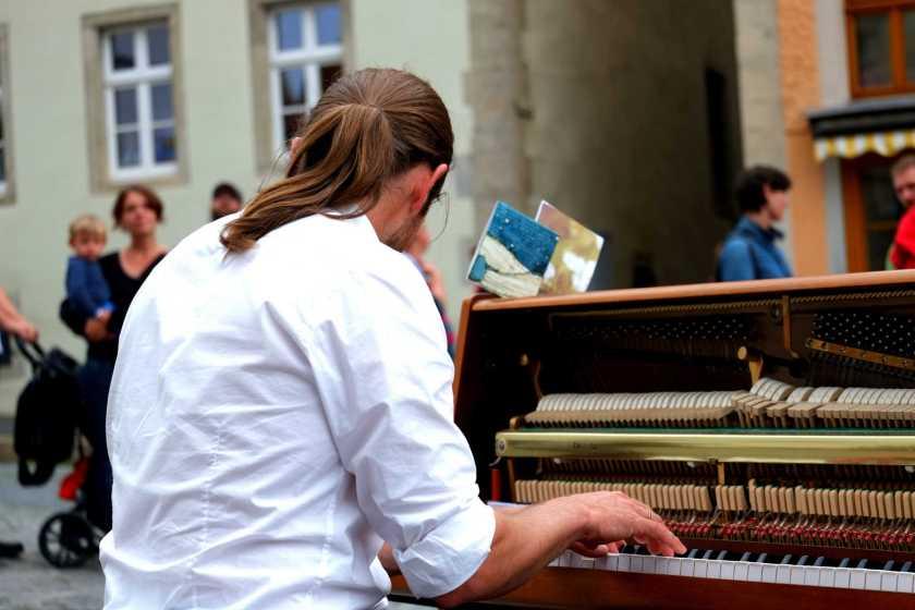 Activité cérébrale des pianistes