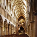 12 Wells cathedral, crossing with strainer arches