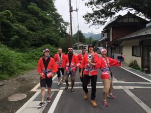 Celebrating Minakami Omatsuri