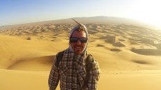 On top of the Gobi Desert
