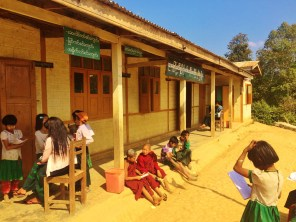 This is the village school