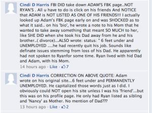 Adam had a FB?