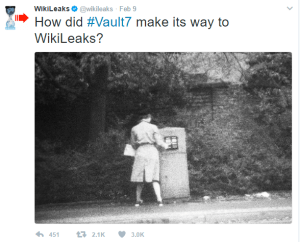 How did vault 7 make its way